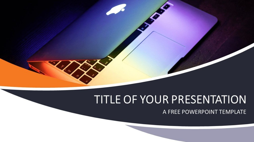 008 Striking Free Technology Powerpoint Template Idea  Templates Animated Information DownloadLarge