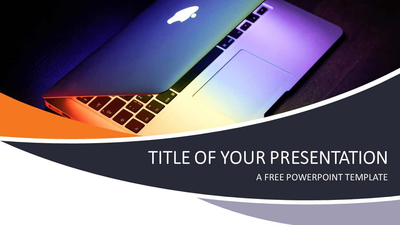 008 Striking Free Technology Powerpoint Template Idea  Templates Animated Information DownloadFull