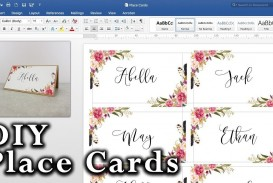 008 Striking Microsoft Word Place Card Template High Definition  Table Free Print Name