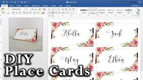 008 Striking Microsoft Word Place Card Template High Definition  Table Free Print Name480