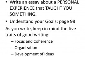 008 Striking Personal Narrative Essay High Resolution  Structure Sample School Prompt