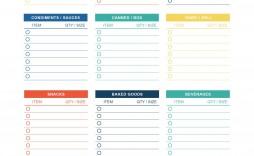 008 Striking Printable Grocery List Template Idea  Shopping Microsoft Free