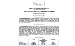 008 Striking Private Placement Memorandum Template Real Estate Design