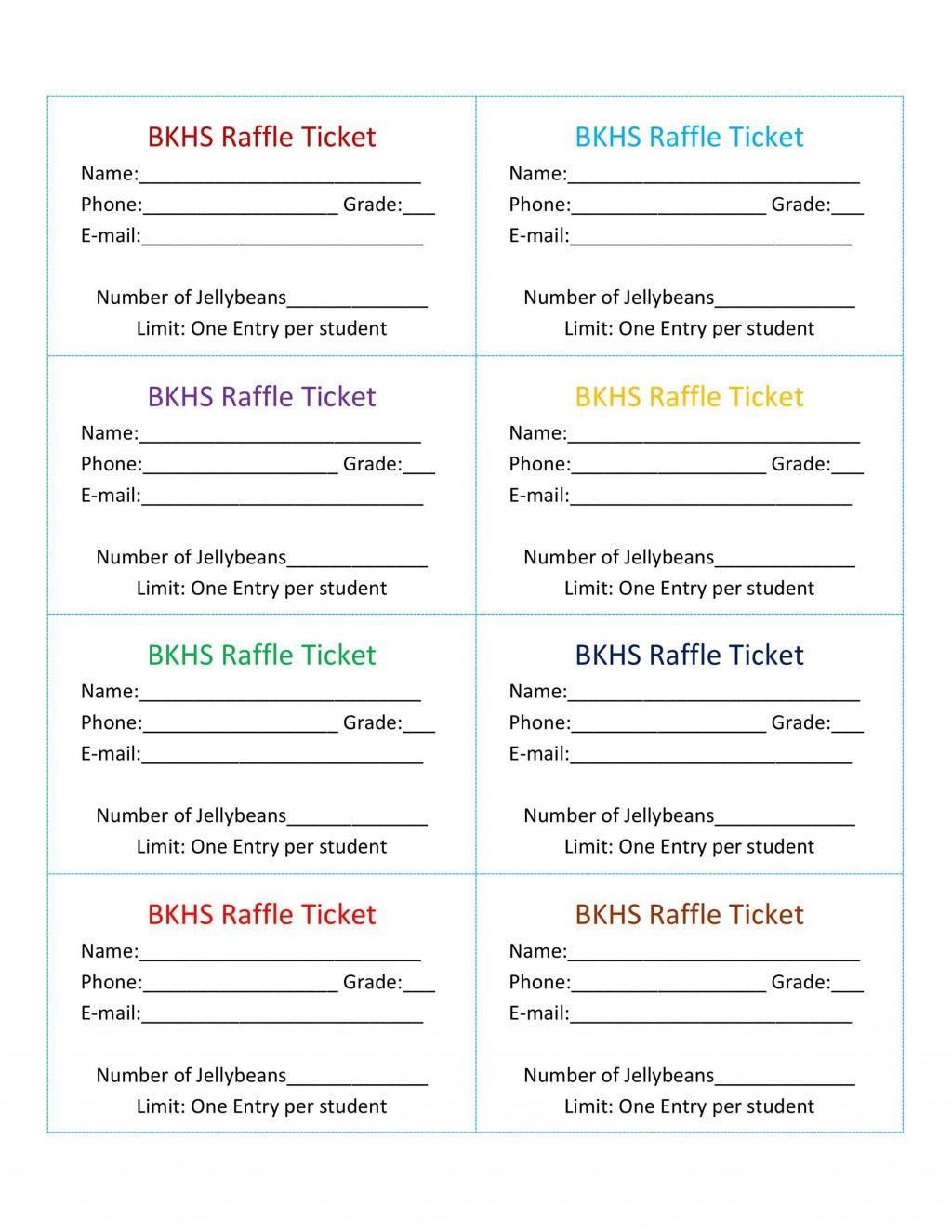 008 Striking Raffle Ticket Template Word Example  8 Per Page FormatLarge