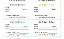 008 Striking Raffle Ticket Template Word Example  8 Per Page Format