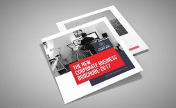 008 Striking Square Brochure Template Psd Free Download Picture