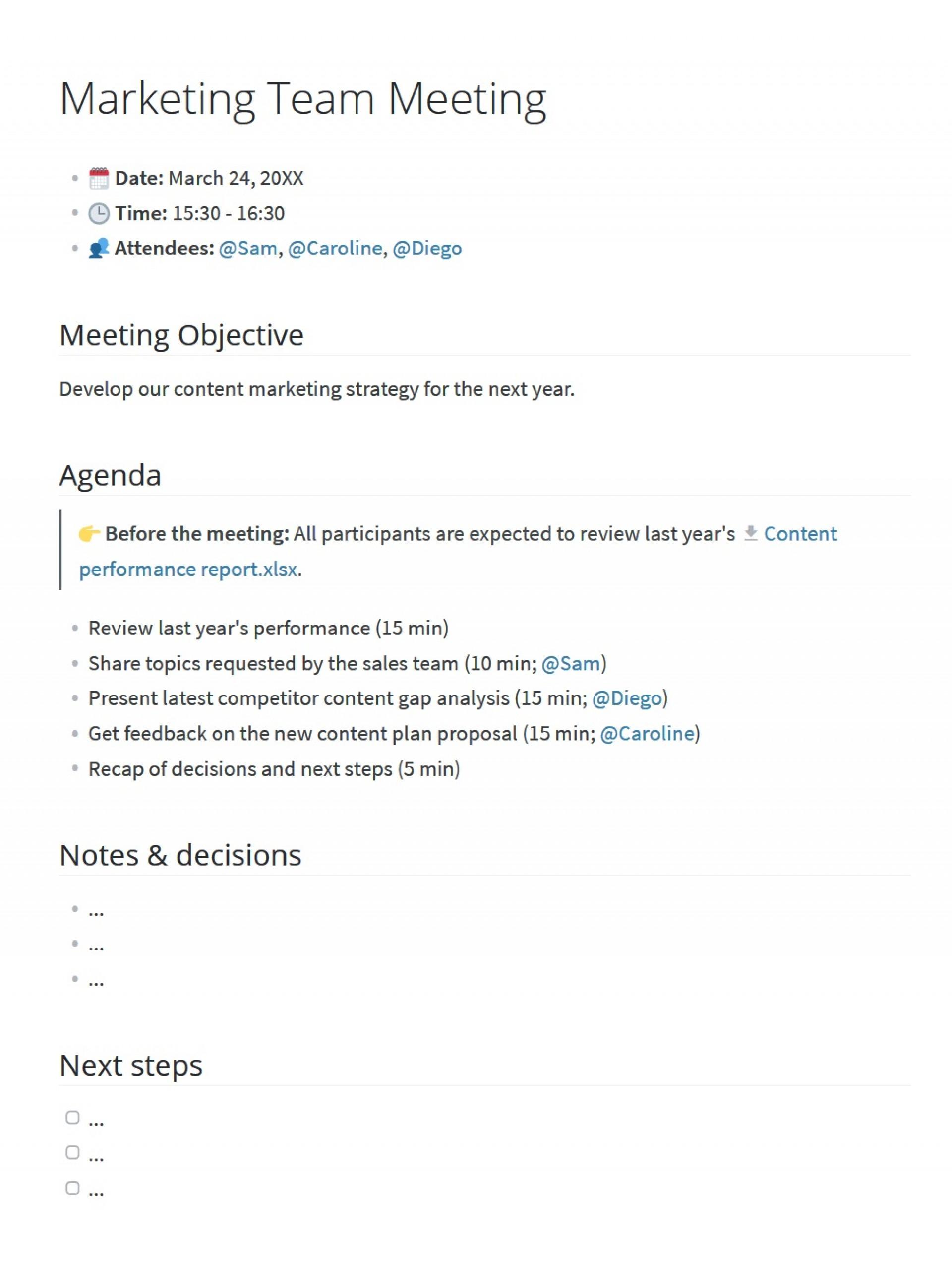 008 Striking Staff Meeting Agenda Template Photo  Example Pdf Sample Format1920