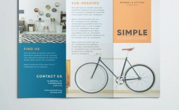 008 Striking Three Fold Brochure Template Free Download Concept  3 Psd Publisher
