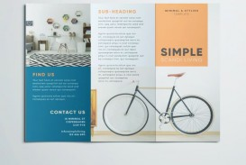 008 Striking Three Fold Brochure Template Free Download Concept  3 Publisher Psd