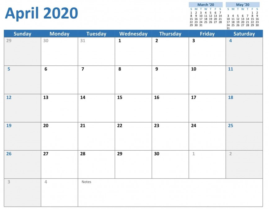 008 Stunning 2020 Calendar Template Excel High Definition  Monthly Free Download South Africa Editable