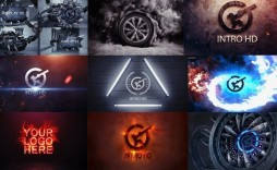 008 Stunning After Effect Template Free Download High Definition  Downloads Logo Intro Birthday Slideshow