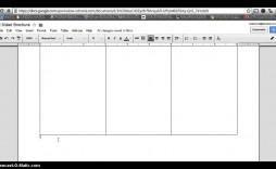 008 Stunning Brochure Template Google Doc High Resolution  Blank Tri Fold Slide