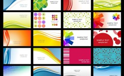 008 Stunning Busines Card Template Free Download Sample  Psd File Pdf Ppt