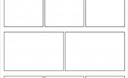 008 Stunning Free Comic Strip Template Word Sample