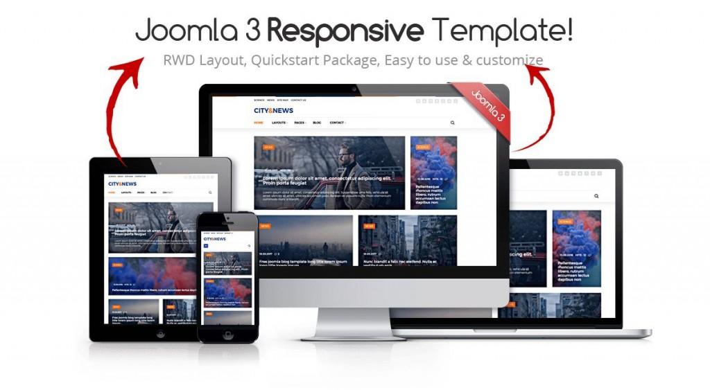 008 Stunning Joomla Responsive Template Free High Def  3.0 Download Busines 3Large