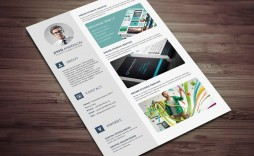 008 Stunning Microsoft Word Portfolio Template High Def  Career Professional Free Download