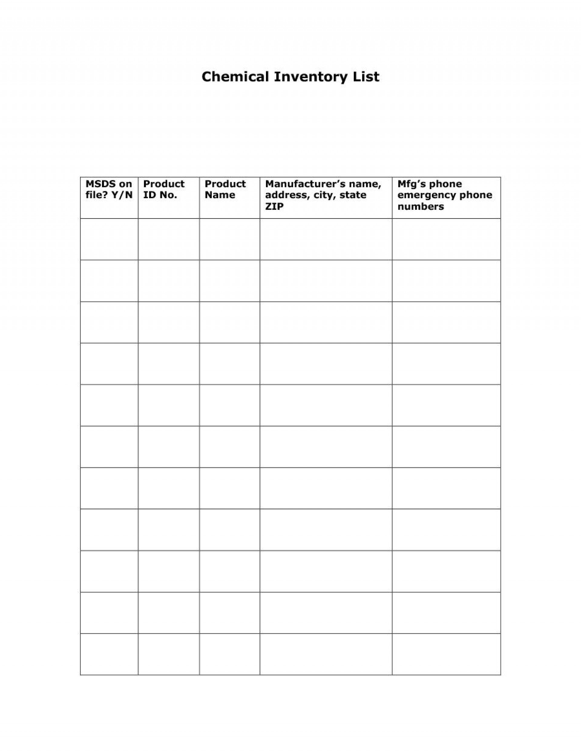 008 Stunning Office Supply List Template Highest Quality  Order Printable Medical1920