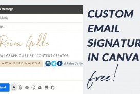 008 Stunning Professional Email Signature Template Image  Free Html Download