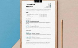 008 Stunning Resume Template Word Free Photo  Download India 2020