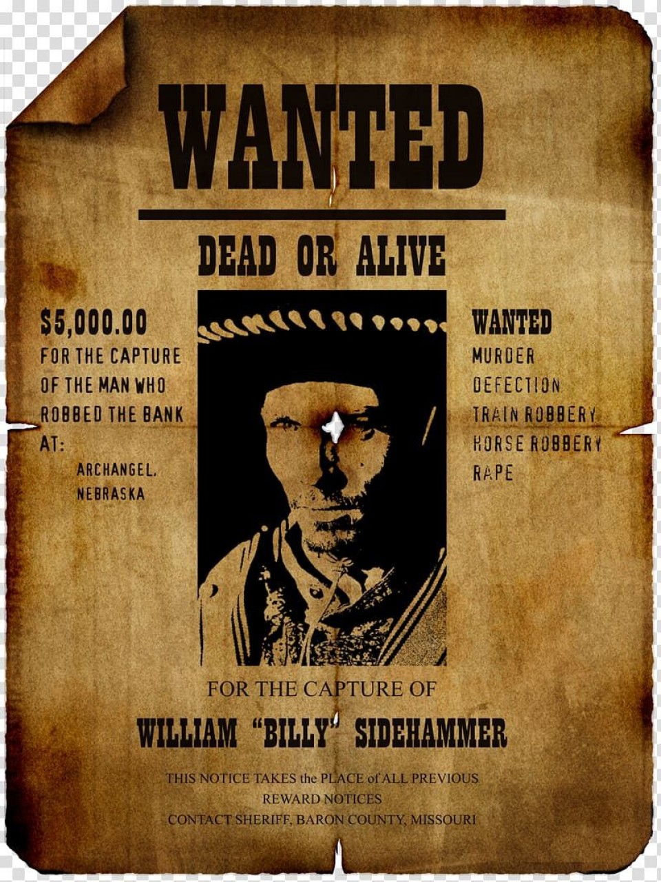 008 Stunning Wanted Poster Template Microsoft Word High Resolution  Western Most960