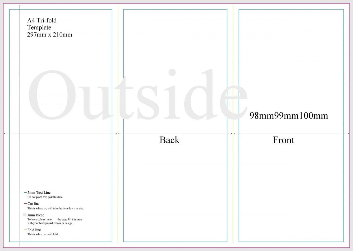 008 Stupendou 3 Fold Brochure Template Doc Inspiration  Google1400