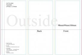 008 Stupendou 3 Fold Brochure Template Doc Inspiration  Google