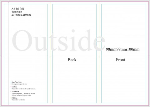 008 Stupendou 3 Fold Brochure Template Doc Inspiration  Google480