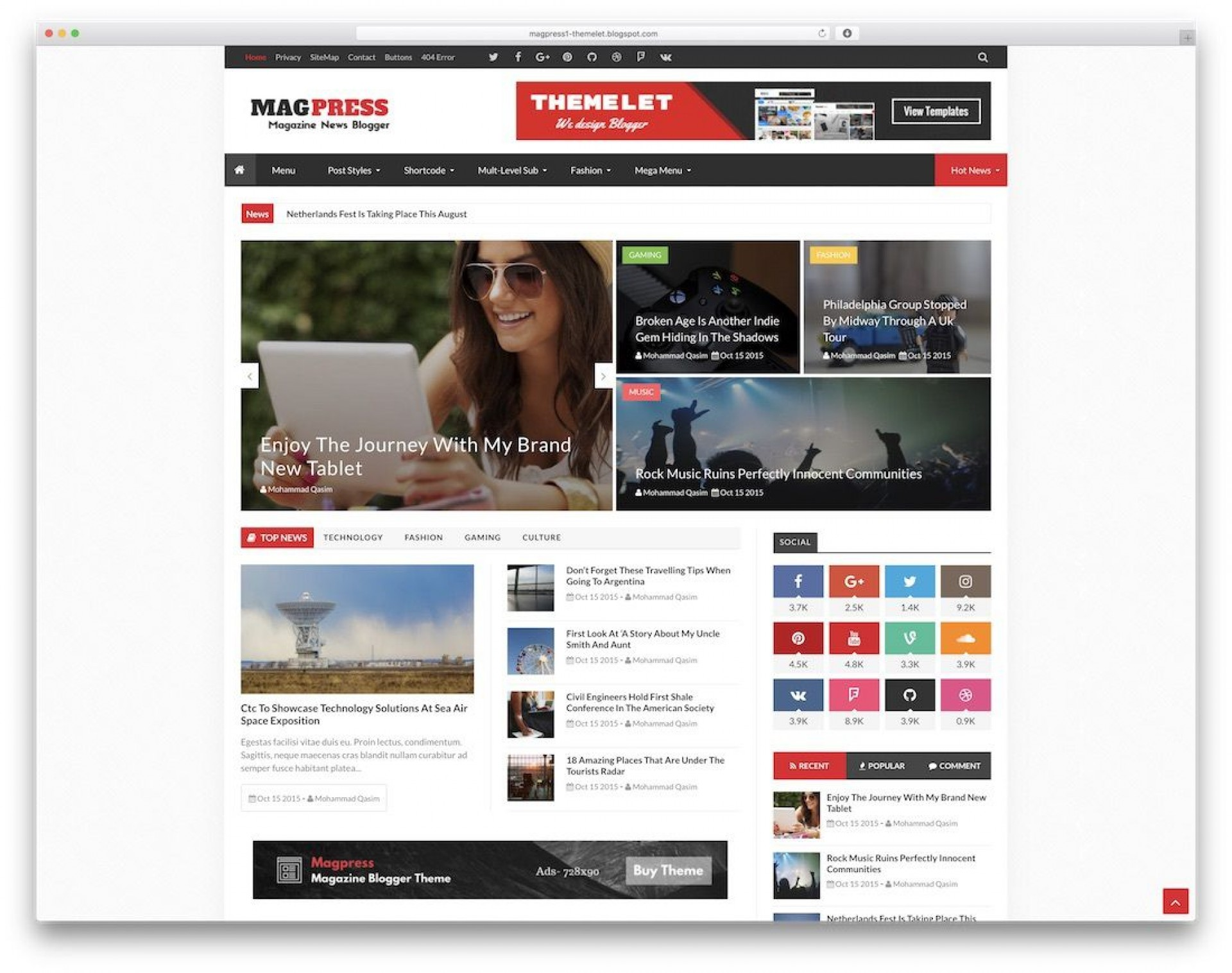 008 Stupendou Best Free Responsive Blogger Template 2015 Example 1920