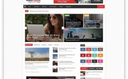 008 Stupendou Best Free Responsive Blogger Template 2015 Example