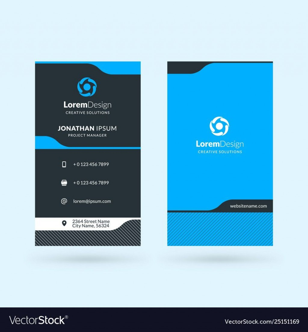 008 Stupendou Double Sided Busines Card Template Image  Templates Word Free Two MicrosoftLarge