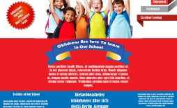 008 Stupendou Free School Event Flyer Template Design  Templates