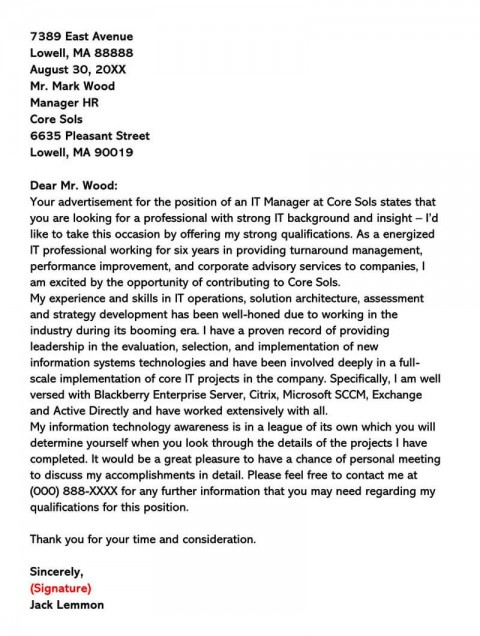 008 Stupendou General Manager Cover Letter Template Inspiration  Hotel480