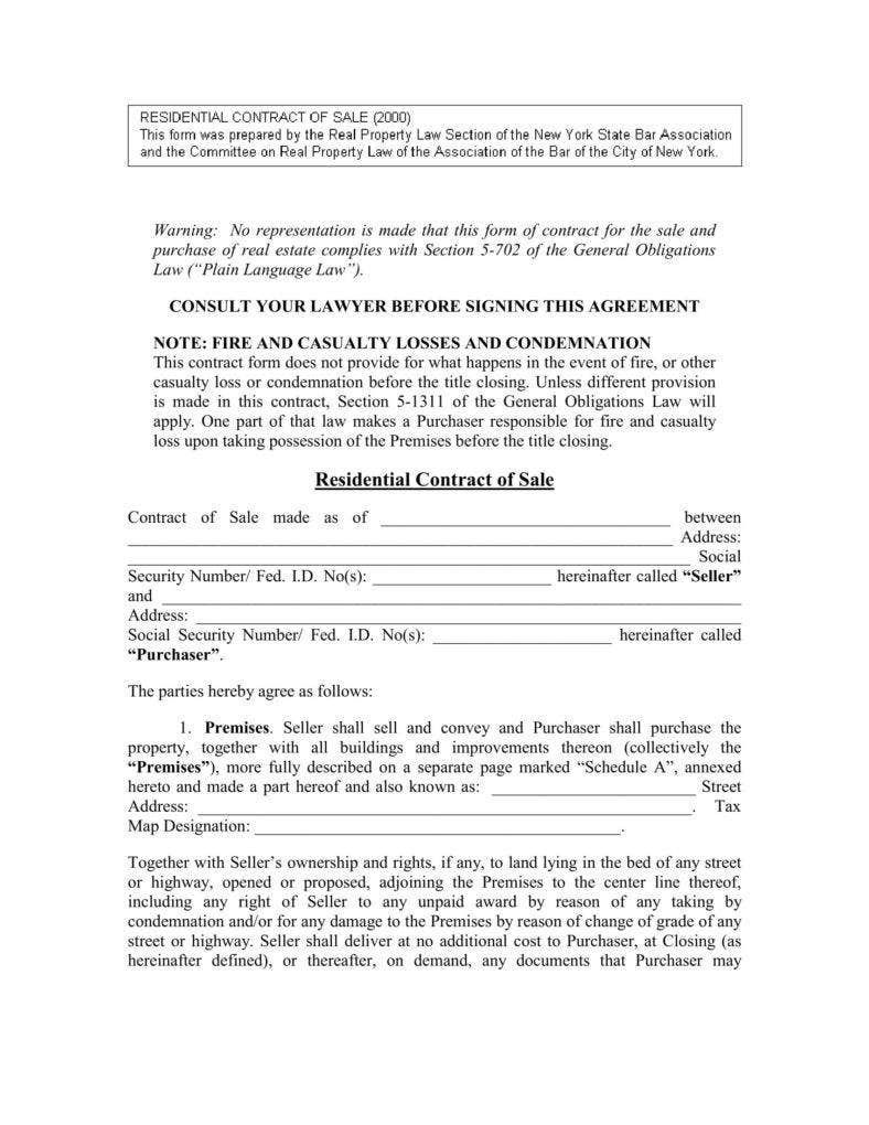 008 Stupendou Residential Purchase Agreement Template High Definition  California Form FreeFull
