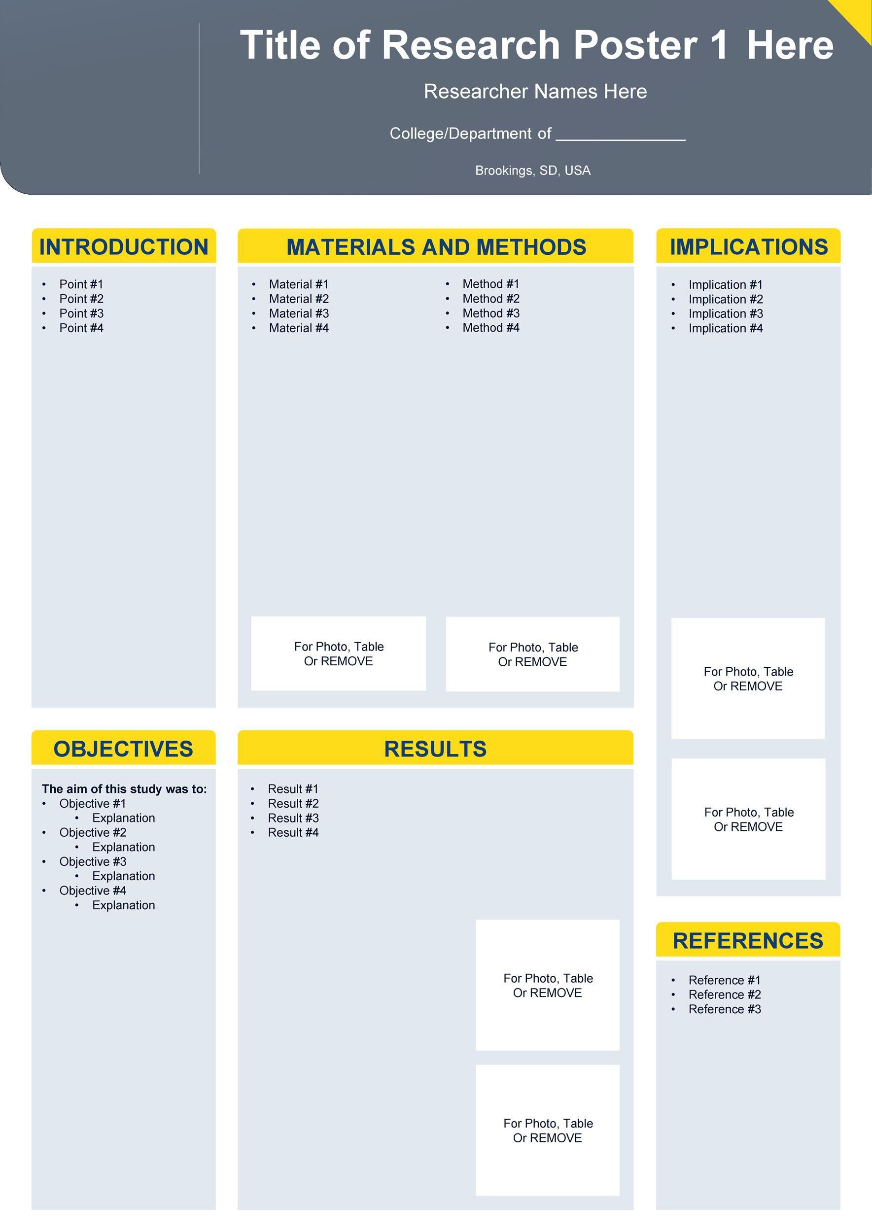 008 Stupendou Scientific Poster Design Template Free Download Idea Full