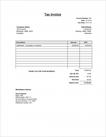 008 Stupendou Service Invoice Template Free High Definition  Rendered Word Auto Download360
