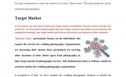 008 Stupendou Wedding Photography Busines Plan Example Image  Sample Of