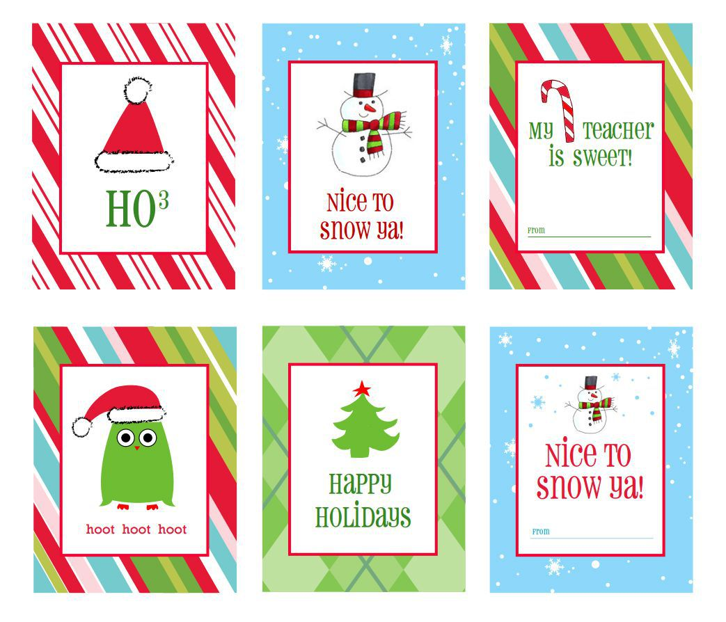 008 Surprising Christma Label Template Free Photo  Present Gift Tag Editable MailingFull