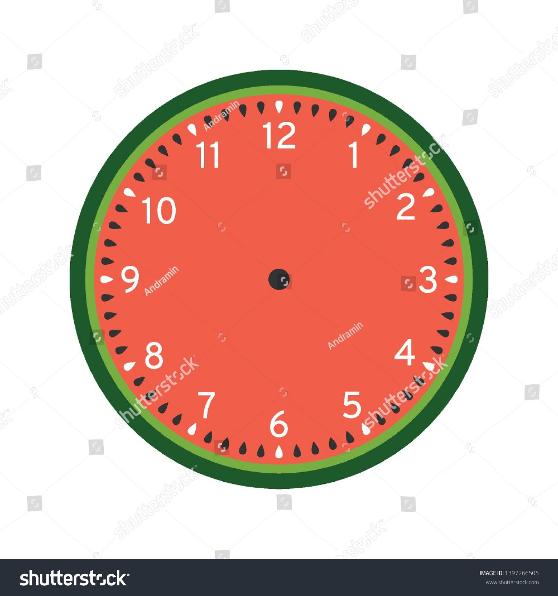 008 Surprising Customizable Clock Face Template Idea 1920