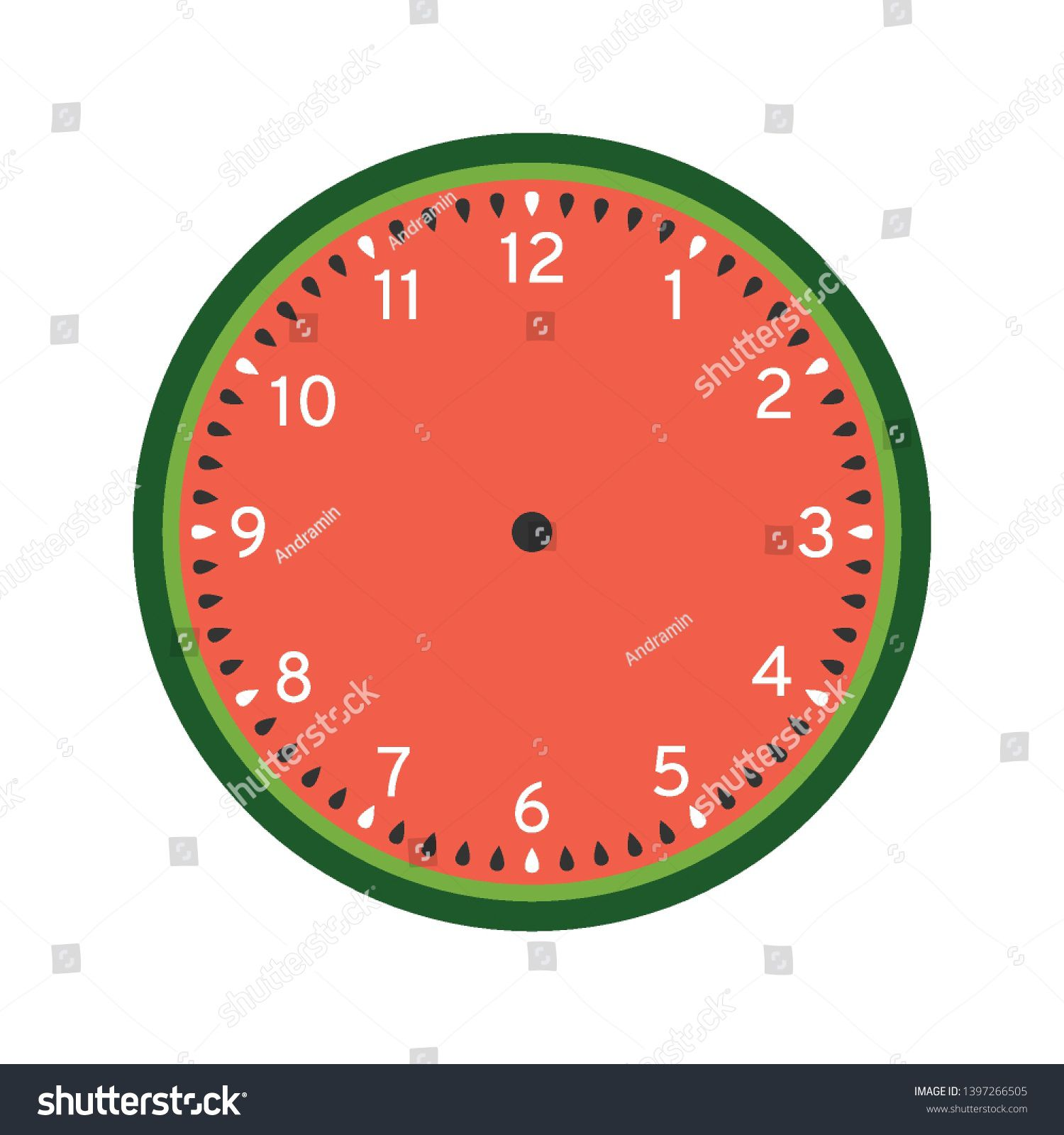 008 Surprising Customizable Clock Face Template Idea Full