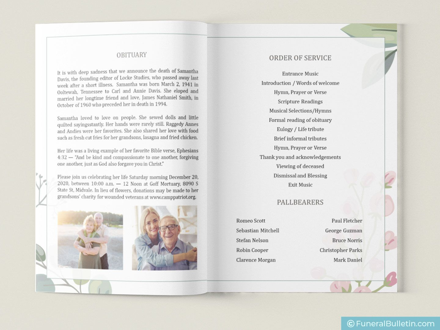 008 Surprising Free Celebration Of Life Brochure Template Highest Clarity  FlyerFull