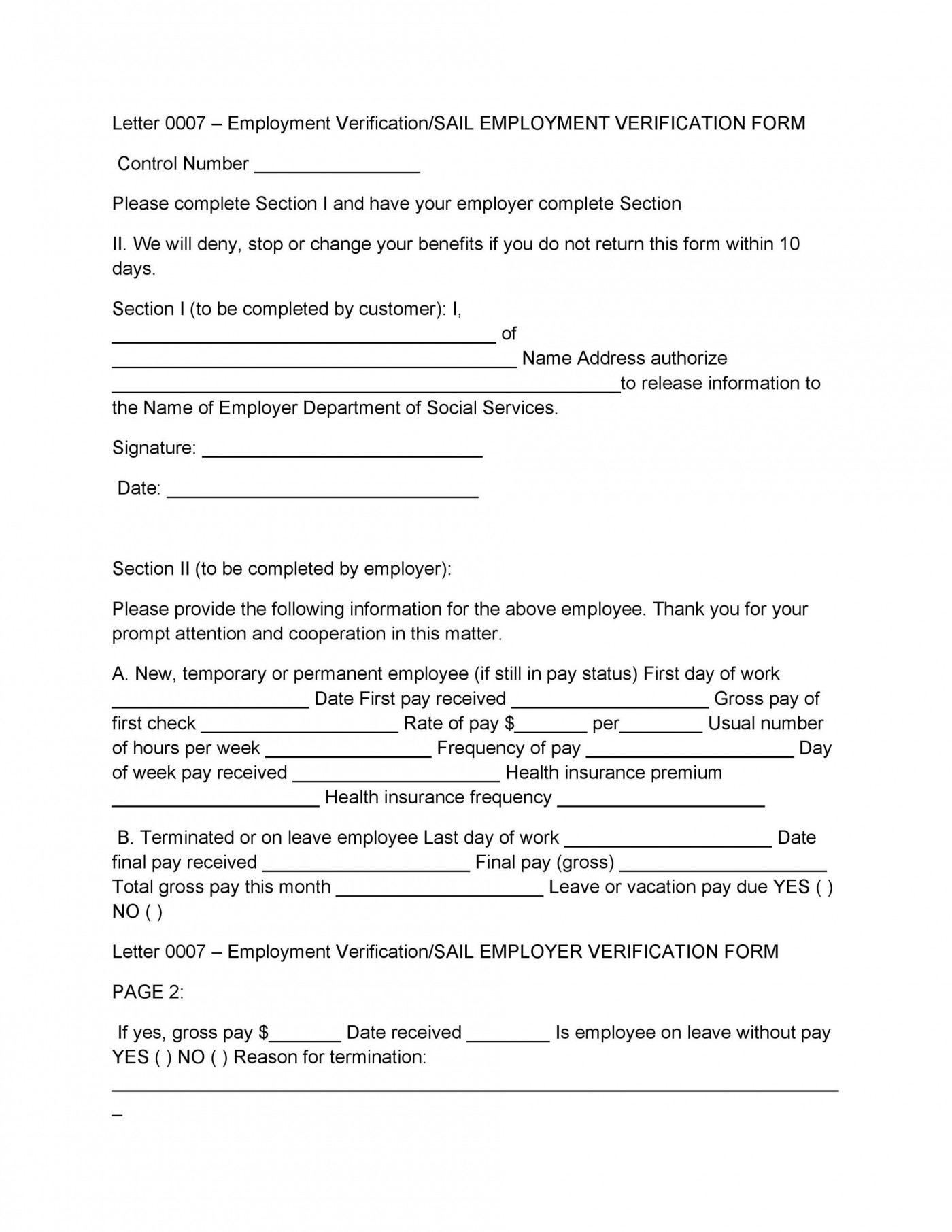 008 Surprising Free Income Verification Form Template High Definition 1400
