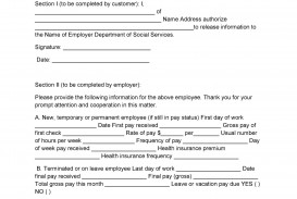 008 Surprising Free Income Verification Form Template High Definition