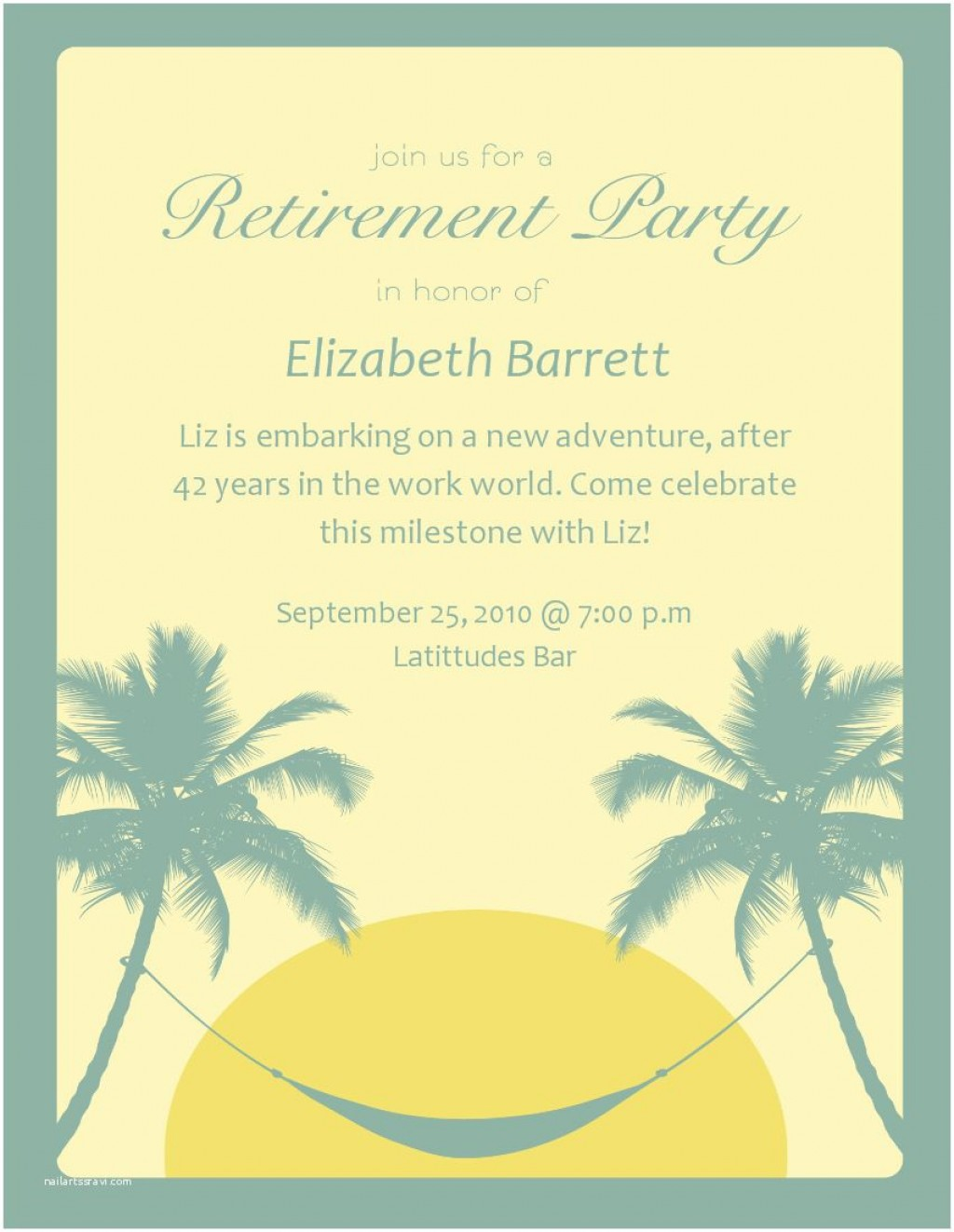 008 Surprising Free Retirement Invitation Template Image  Templates Microsoft Word Party FlyerLarge