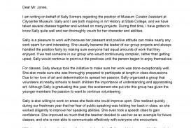 008 Surprising Letter Of Reference Template Sample  Pdf For Student Volunteer Teacher