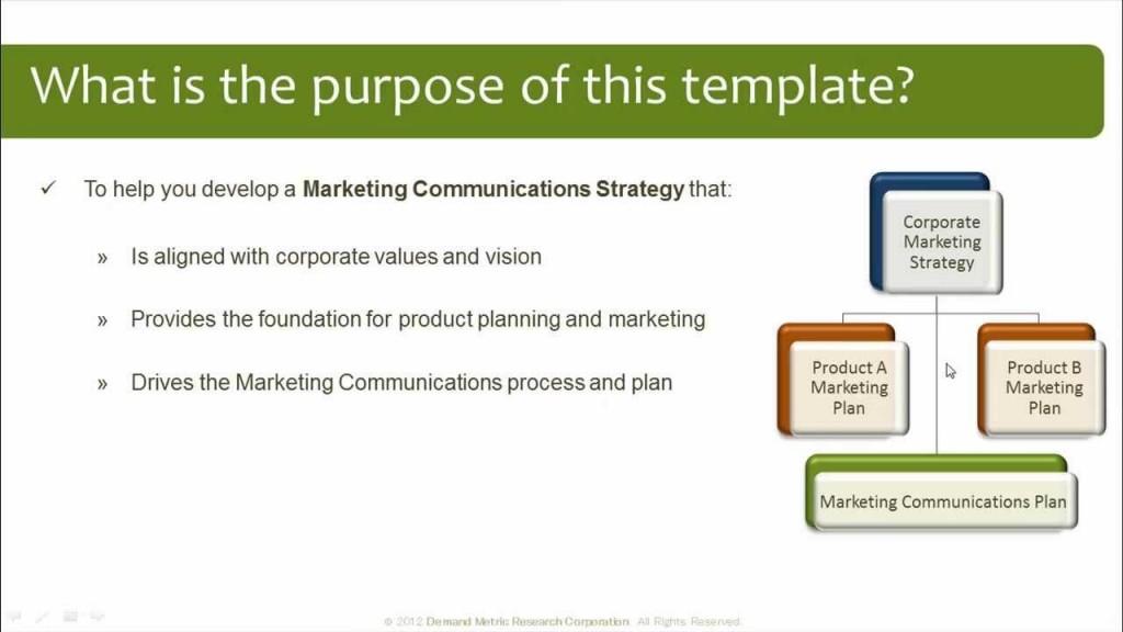 008 Surprising Marketing Communication Plan Template Sample  Example Pdf Excel IntegratedLarge