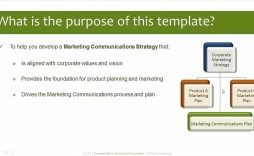 008 Surprising Marketing Communication Plan Template Sample  Example Pdf Excel Integrated