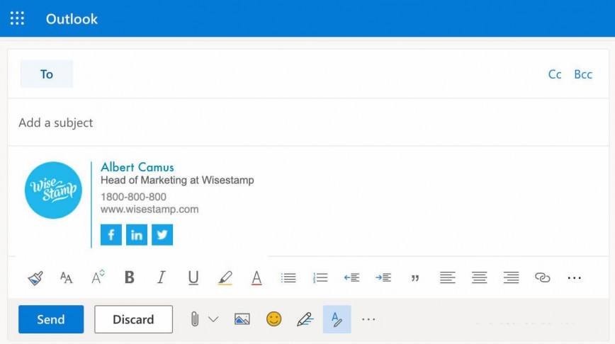 008 Surprising Outlook Email Signature Template Example Inspiration  Examples
