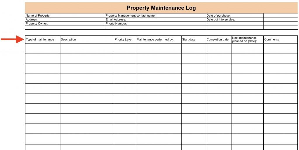 008 Surprising Property Management Maintenance Checklist Template Sample  FreeLarge
