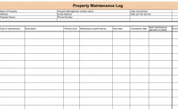 008 Surprising Property Management Maintenance Checklist Template Sample  Free