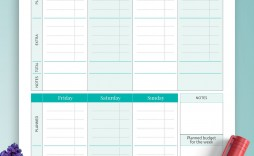 008 Surprising Simple Weekly Budget Template Picture  Personal Google Sheet Planner Excel Uk